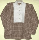 boys pleated front dress shirt (1800s/19th Century)