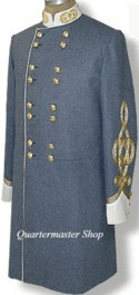 Stonwall Jackson's cadet grey dress frock coat