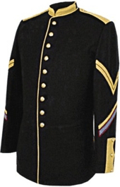 m1872 Enlisted Mounted Dress Coat Cavalry Corporal