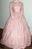 1860s Pagoda Day or Evening Dress, 19th Century (1800s) Ladies Dresses