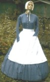 Expecting, Work or Camp Dress (0711-Homestead), 19th Century