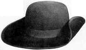 18th and early 19th Century (1800s) men's hat