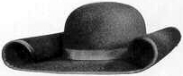 Shovel, 18th and early 19th Century (1800s) men's hat