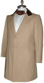 Civilain Frockcoat in Tan, 19th Century (1800s) Men's Clothing