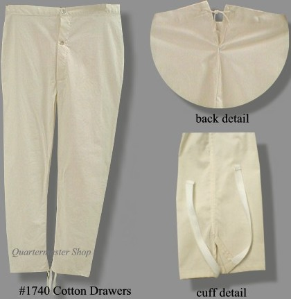 Drawers Long Johns And Union Suits Pre And Post Mexican War