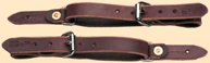 Spur Straps: Rough Stock - Old West, by Colorado Saddlery