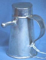 Tinware Baby Bottle (1700s, 1800s/18th and 19th Century)