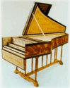 17th Century Flemish Double Manual Harpsichord