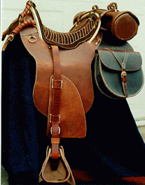 Confederate (CS) McClellan Officer's Saddle