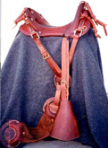 M1904 McClellan Cavalry Saddle - Tan/Brown