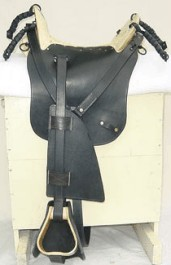 M1859 McClellan Cavalry Saddle for Enlisted and Officer's