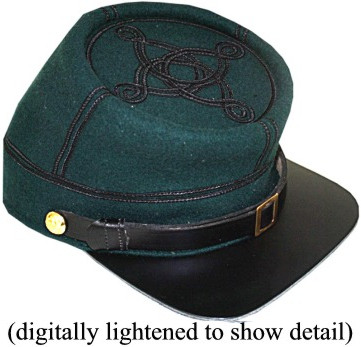 12a375c50e1 U.S. officers military hats and caps of the American Civil War hat